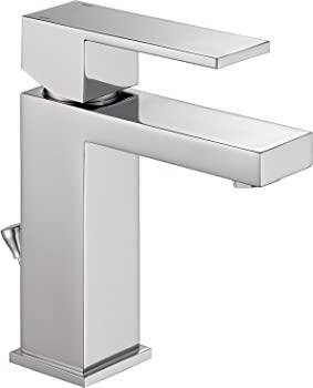 Delta Faucet Modern Single-Handle Bathroom Faucet
