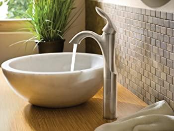 Moen 6400BN Eva One-Handle High Arc Bathroom Faucet
