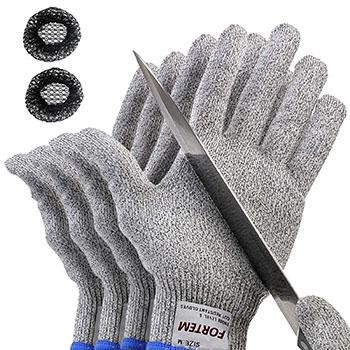 FORTEM 2-pair Cut Resistant Gloves
