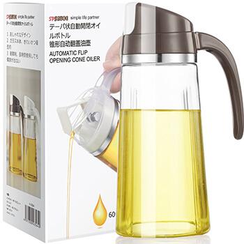 Marbrasse, Auto Flip Olive Oil Dispenser Bottle