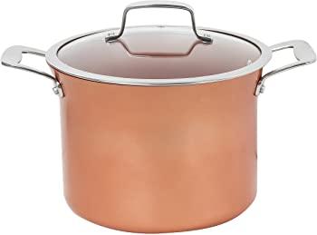 CONCORD Copper Non Stick Stock Pot