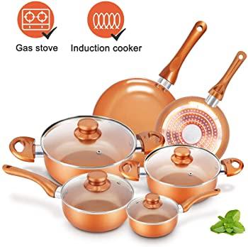 KUTIME 6pcs Cookware Set