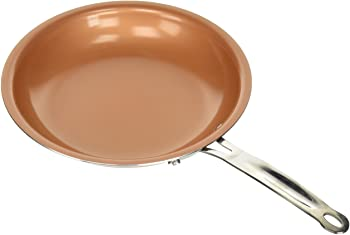 MasterPan Copper tone 10-inch Ceramic Non-stick Frypan