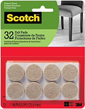 Scotch Round SP802-NA Scotch Brand Felt Pads