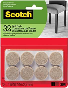 Scotch Round SP802-NA Scotch Brand Felt Pads