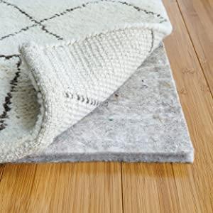 RUGPADUSA, Basics Protective Cushioning Rug Pad - Safe for All Hardwoods