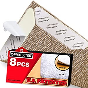 X-Protector, Best Anti Curling Rug Gripper For Hardwood